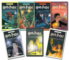 Harry potter, 7 libros de J.K. Rowling