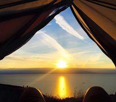 Wales Coastal Path, Artsy Photos, Appalachian Trail, Airplane View, Trek, Paths, Celestial, Sunset, Outdoor