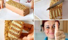 MATTONCINO DOLCE DI BENEDETTA Ricetta Facile Senza Cottura - Nutella Brick Cake Easy Recipe | Fatto in casa da Benedetta
