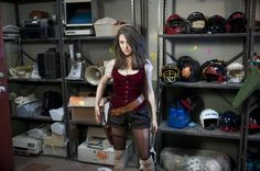 Alison Brie/Annie Edison in #Community. From: A Fistful of Paintballs
