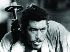 seven samurai  my FAVORITE actor TOSHIRO MIFUNE