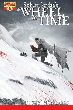 Robert Jordan's The Wheel of Time - Cover by JEREMY SALIBA