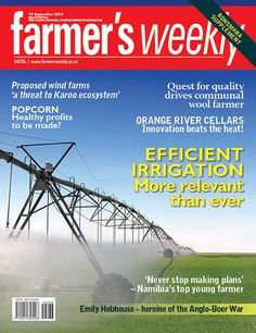 Get your digital subscription/issue of Farmer's September 2014 Magazine on Magzter and enjoy reading the magazine on iPad, iPhone, Android devices and the web. Healthy Popcorn, Agricultural Sector, Young Farmers, Beat The Heat, September 2014, Irrigation, Magazine, How To Plan, Digital