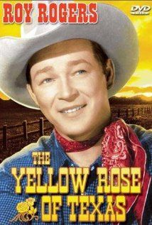 The Yellow Rose of Texas- one of those movies my sister & I watched when we were little, black & white, on VHS, over and over again :)