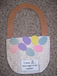 Easter Basket Craft from Making Learning Fun