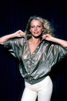 Beautiful Young Lady, Beautiful People, Beautiful Women, Beautiful Celebrities, Beautiful Actresses, Actrices Sexy, Cheryl Ladd, Farrah Fawcett, Actrices Hollywood