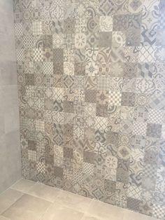 tiles Wall 53 ideas kitchen floor ideas tile accent walls for 2019 Kitchen Floor Tile Patterns, Kitchen Flooring, Kitchen Backsplash, Tile Accent Wall, Wall Tiles, Accent Walls, Ceiling Tiles, Grey Laundry Rooms, Grey Flooring