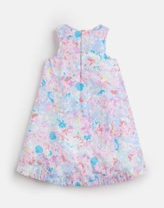 BUNTY Woven Printed Dress 1-6 Yr Joules Girls, Joules Uk, Rain Collection, Ditsy, Outfit Sets, Shoe Boots, Mermaid, Summer Dresses, Printed