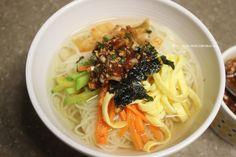 Korean Food, Korean Recipes, Soy Sauce, Ramen, Noodles, Soup, Baking, Ethnic Recipes, Macaroni
