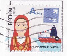 Country / Post	Portugal Date of Issue	30 April 2013 Primary theme	Exhibitions, Fairs & Carnivals (Carnivals) Religions & beliefs (Christianity) Subject	Traditional Portuguese Festivities - Feast of Our Lady of Agony Width	30.6 mm Height	27.7 mm Denomination	0.50 € Number in set	8 (show set) Layout/Format	sheet of 100 Perforations	11.75 by 11.75 Stamp issuing authority	CTT Correios de Portugal SA