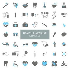 Icons set about health and medicine Free Vector Icon Set, Banner Design, Medical Websites, Health Icon, Line Texture, Photography Backdrop Stand, Medical Icon, Powerpoint Template Free, Health Care