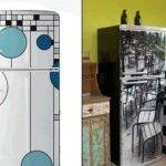 Criatividade para adesivar a geladeira #criatividade #inovação #cozinha