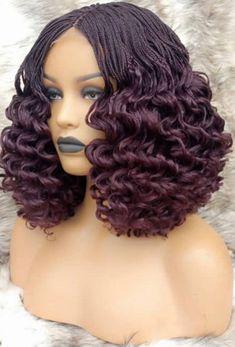 Box Braid Wig, Braids Wig, Box Braids, African Hairstyles, Braided Hairstyles, Curly Hair Styles, Natural Hair Styles, Braids With Extensions, Hair Quality