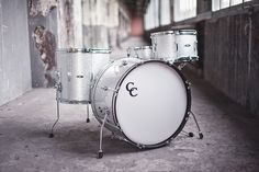 C&C Drums Europe - New Vintage Drums - Player Date (Silver Sparkle) www.candcdrumseurope.com
