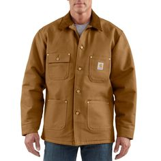 #Carhartt #Workwear :Chore Coat - find more on http://workstyle.pl