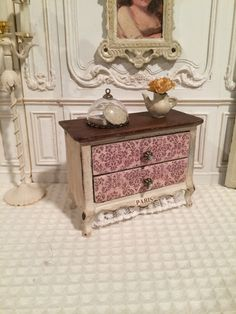 Dollhouse Miniature 1:12th Scale Ladies by VintageChicMiniature