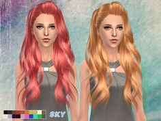 The Sims Resource: Hairstyle 262 by Skysims  - Sims 4 Hairs - http://sims4hairs.com/the-sims-resource-hairstyle-262-by-skysims/