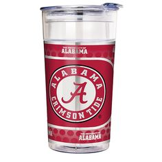 Great American Products NCAA 22 oz. Double Wall Acrylic Party Cup - Alabama Crimson Tide