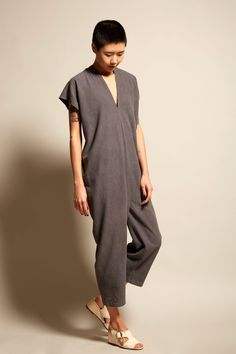 Miranda Bennett Everyday Jumpsuit in Coal