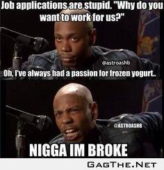 Job interviews in summary.