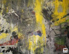 "Pigment, Acrylic on Canvas60"" x 48"" x 1½"""