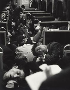 Early Morning Train, Japan, 1964