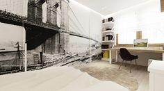 ديكور الأحلام,15-Contemporary-bedroom,