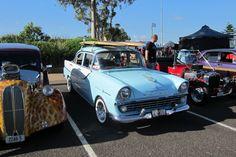 Old Holden EK sedan with D Fin Malibu's