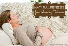 10 Natural Remedies for Morning Sickness #SeaBandMamaMorningSicknessRelief