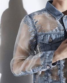 Sheer and denim. 2019 Sheer and denim. The post Sheer and denim. 2019 appeared first on Denim Diy. Denim Fashion, Fashion Outfits, Womens Fashion, Fashion Trends, Fashion Fashion, Diy Outfits, Korean Fashion, Fashion Tips, Kleidung Design