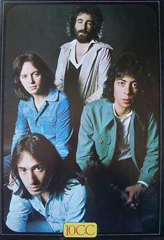 Saw 10 cc at Usher Hall, Edinburgh, 1975
