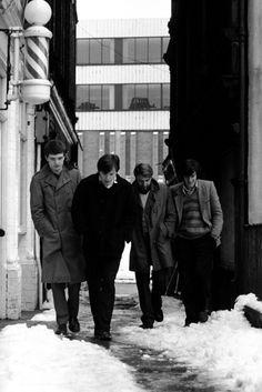 Kevin Cummins, Ian Curtis & Joy Division, Manchester,1979 Joy Division, Transmission
