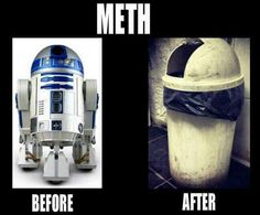R2D2 is New Face of Meth