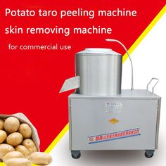 688.50$  Buy here - http://aliofo.worldwells.pw/go.php?t=32734563674 - Stainless Steel Potato Taro Peeling Machine/ Skin Removing Machine with Cleaning Function for Commercial Use Model 350
