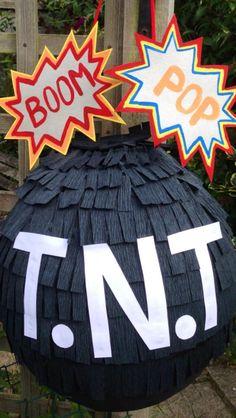 Superhero TNT Piñata