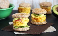Mini Whole Wheat Egg Sandwiches   Recipe