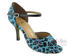 Natural Spin Tango Salsa Shoes/Tango Shoes/Fashion Shoes(Open Toe):  T1102-07a_L