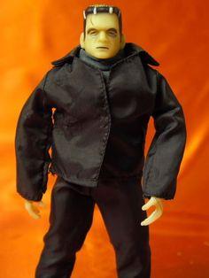 "1979 Vintage Remco Frankenstein 8"" Glow in the Dark Figure, Complete #Remco"