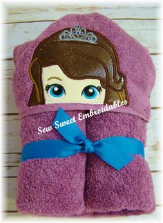 Check out this item in my Etsy shop https://www.etsy.com/listing/249490384/princess-sophia-inspired-hooded