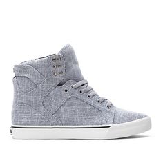 SKYTOP GREY - WHITE