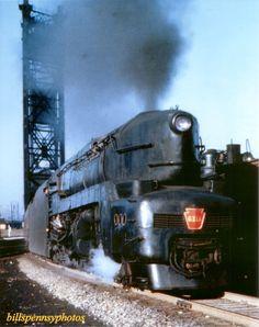Duplex Locomotive   T1 #6111 near 23rd Street Bridge, Chicago 1940's