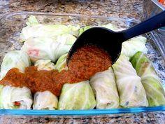 Quinoa Stuffed Cabbage Rolls - Vegan & gluten free