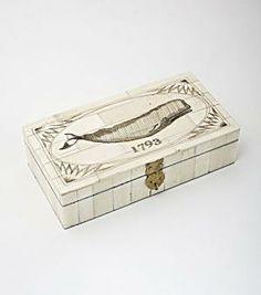 whale scrimshaw box