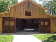 barn doors with windows - Google Search