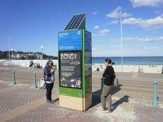 Bondi Beach, Solar Power, Signage, Fair Grounds, Public, Architecture, Fun, Travel, Furniture