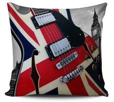 Almofada Guitarra Londres