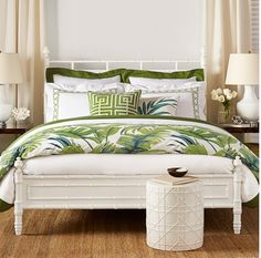 Tropical Bedding - check various designs and colors on Pretty Home