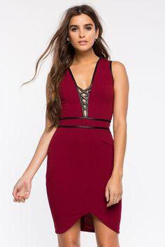 Women's Bodycon Dresses | Alexis Crossback Bodycon Dress | A'GACI