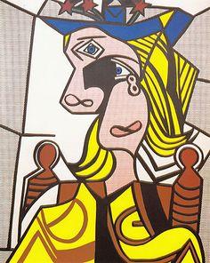 Woman With Flowered Hat, Roy Lichtenstein, $ 56,1 million