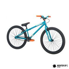 "Mountain Bike 26"" Bicycle Boys Mens Dirt Jump Teal Single Speed Aluminum Frame"